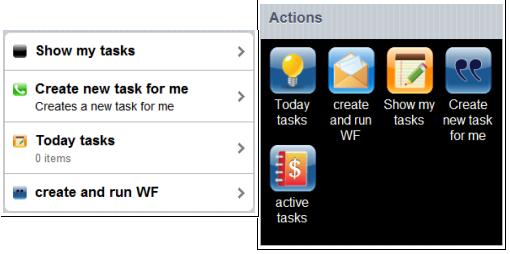 Lista acciones vs Grid acciones sharepoint